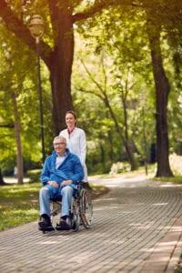 Caregiver in Culver City CA: Wheelchair-Bound Seniors